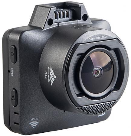Видеорегистратор Silverstone F1 HYBRID mini pro черный 5Mpix 1296x2304 1296p 170гр. GPS внутренняя память:1Gb Ambarella A12