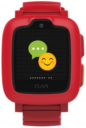 Смарт-часы Elari KidPhone-3G 15мм 1.3 TFT красный elari kidphone 2 green