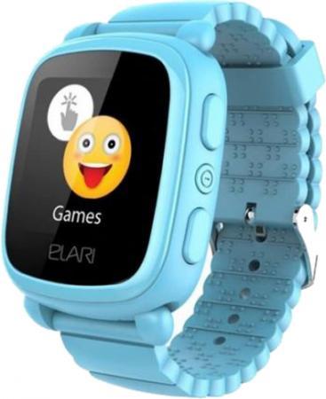 """Смарт-часы Elari KidPhone 2 15мм 1.4"""" TFT голубой цена в Москве и Питере"""