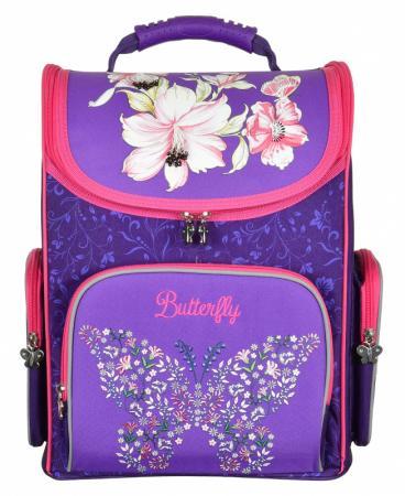Ранец ручка для переноски Silwerhof Butterfly фиолетовый малиновый цена и фото