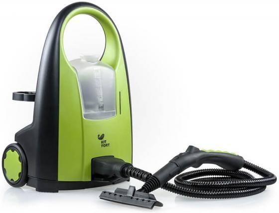 Пароочиститель KITFORT КТ-903 2000Вт зелёный цена и фото