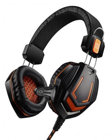 купить Игровая гарнитура проводная Canyon CND-SGHS3 черный по цене 680 рублей