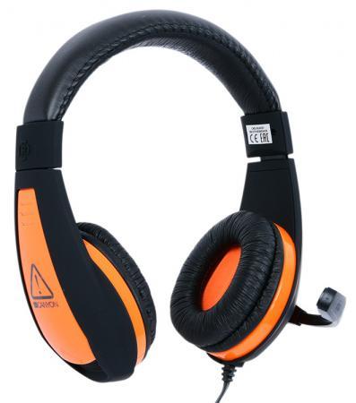 лучшая цена Игровая гарнитура проводная Canyon CND-SGHS1 черный оранжевый