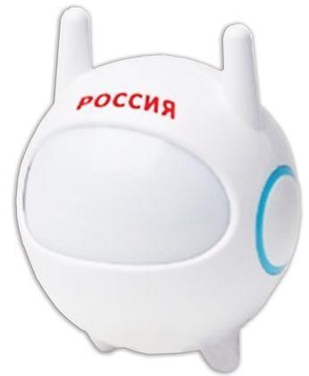 Светильник-ночник ЭРА NN-604 Космонавт, светодиодный, с сенсором света, детский, белый, NN-604-LS-W