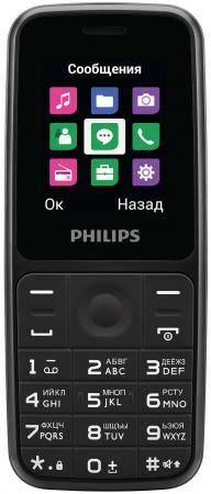 """Мобильный телефон Philips E125 черный 1.77"""" все цены"""