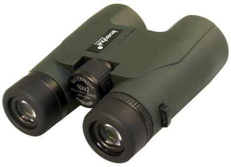 """лучшая цена Бинокль LEVENHUK """"Karma PRO 16x42"""", увеличение х16, объектив 42 мм, водонепроницаемый, зеленый, 67701"""
