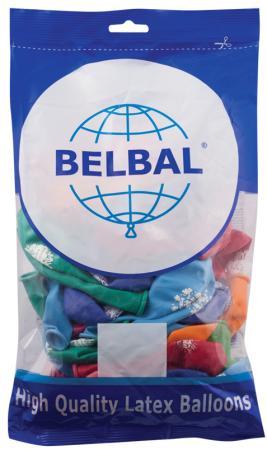 Набор шаров Веселая Затея С Днем Рождения 50 шт 30 см цены онлайн