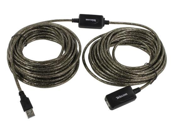 Фото - Кабель USB2.0-repeater, удлинительный активный <Am-->Af> 15м, Telecom <TUS7049-15M> huawei watch gt