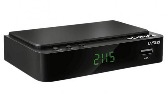 Приставка DVB-T2 LUMAX (активная антенна в комплекте)/ GX3235S, Пластик, Dolby Digital, IPTV-плейлисты, YouTube, Кинозал LUMAX (более 500 фильмов), MEGOGO, 3 RCA, USB, HDMI, внешний блок питания
