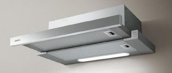 лучшая цена Встраиваемая вытяжка JET AIR/ Встраиваемая, 60 см, 650 м3, кнопочное управление, цвет: нерж.сталь