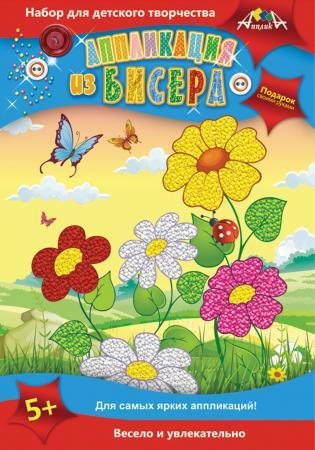 Набор для творчества АППЛИКА Цветы от 5 лет апплика набор для творчества стразы овальные