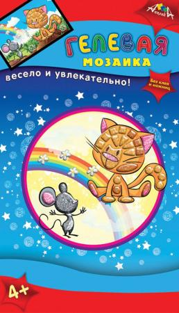 Набор для творчества АППЛИКА Котенок от 4 лет апплика набор для творчества стразы овальные