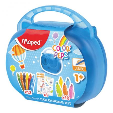 Купить Набор для творчества Maped Color'Peps Jumbo 12 цветов, Краски