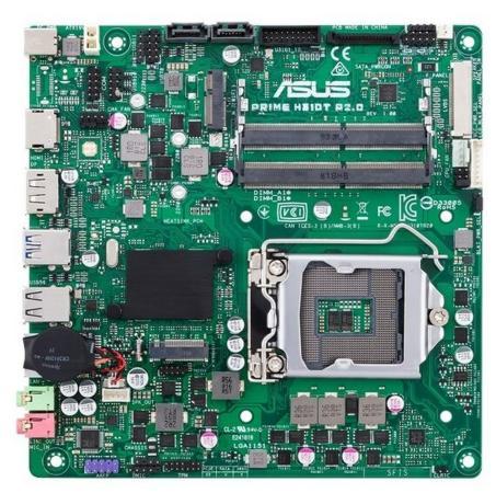 Материнская плата ASUS PRIME H310T R2.0 Socket 1151 v2 H310 2xDDR4 2 mini-ITX Retail