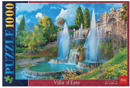 Купить Пазл STANDARD, 1000 элементов, А2, Великолепные фонтаны , 450х680 мм, 1000ПЗ2 11367, U186626, Hatber, Пазлы (700-3000 элементов)