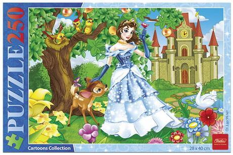 Купить Пазл 250 элементов Hatber Принцессы, Пазлы