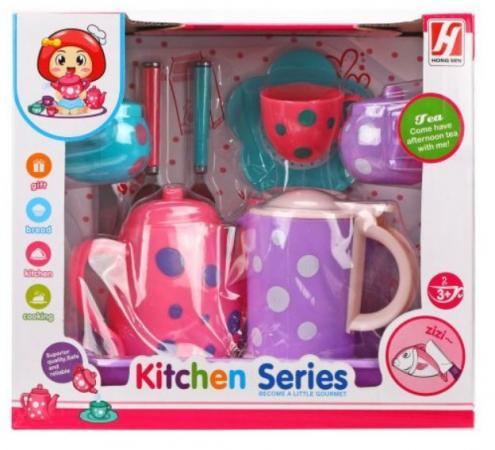 набор посуды Наша Игрушка Набор посуды для чаепития набор посуды плейдорадо для чаепития 22016