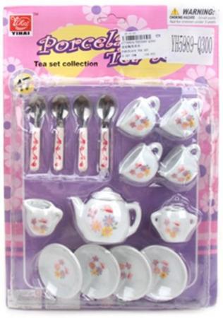 набор фонариков полянка метель листопад 124005 набор посуды Наша Игрушка Полянка фарфоровая
