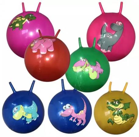 Мяч-попрыгун Наша Игрушка Динозаврик ПВХ с рожками цвет в ассортименте мяч попрыгун z sports с рожками 45 см
