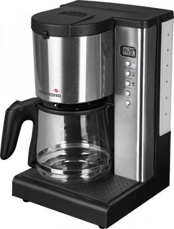 Кофеварка Redmond RCM-M1519S SkyCoffee 1000 Вт черный серебристый