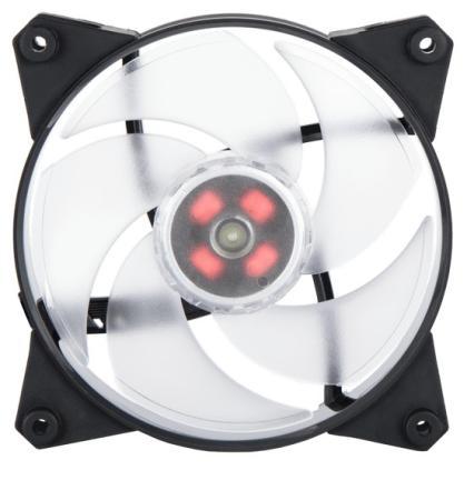 Cooler Master MasterFan Pro 120 Air Pressure,120mm, 4-Pin (PWM), RGB, 3 pcs + MFP RGB LED Controller
