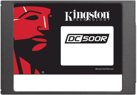 Kingston 480GB SSDNow DC500R (Read-Centric) SATA 3 2.5 (7mm height) 3D TLC kingston ssdnow v300 480гб 2 5 mlc 3 5 адаптер