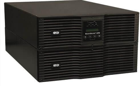 SmartOnline 208/240, 230V 8kVA 7.2kW Double-Conversion UPS, 6U Rack/Tower, Extended Run, Network Card Options, USB, DB9, Bypass Switch, C19 outlets