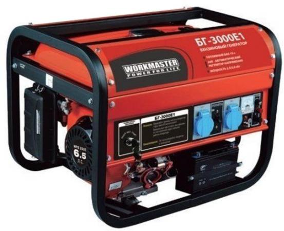 Бензиновый генератор БГ-3000АЕ1 Workmaster все цены
