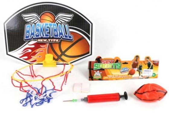 цена на Набор для игры в баскетбол Наша Игрушка Набор для игры в баскетбол 7 предметов