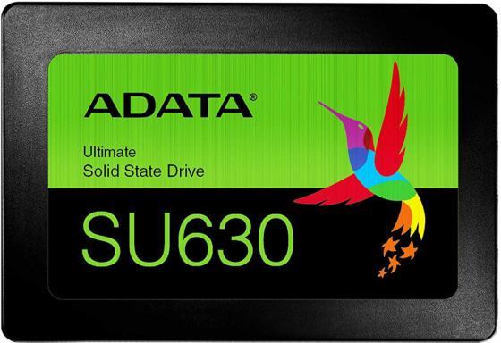 "Твердотельный диск 240GB A-DATA Ultimate SU630, 2.5"", SATA III, [R/W - 520/450 MB/s] 3D QLC цена 2017"