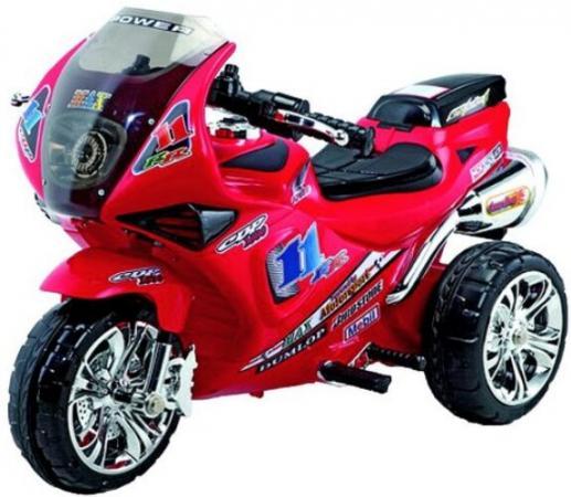 Мотоцикл эл. Гонка, красн., свет, звук, аккум 6V/4,5AH ,18W мотоцикл эл shanghai inter world красный аккум 6v 4ah 12w 86091