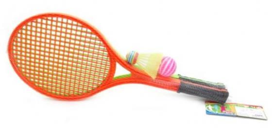 Спортивная игра теннис Наша Игрушка волан, мяч