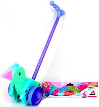 Каталка Наша Игрушка Пташка пластик на колесах цвет в ассортименте каталка детская наша игрушка барабан с шариком в ассортименте