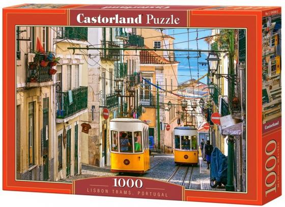 Пазлы 1000 Лиссабонские трамваи. Португалия сергеев л утренние трамваи