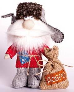 Набор для изготовления текстильной игрушки Перловка Домовой перловка набор для изготовления игрушки фея рукоделия перловка