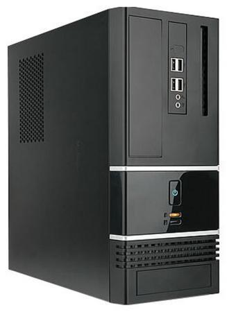 Корпус microATX InWin BK623BL 300 Вт чёрный 6132049 цена