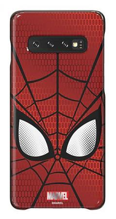 Чехол (клип-кейс) Samsung для Samsung Galaxy S10 Marvel Case Spiderman красный (GP-G973HIFGKWD) цена