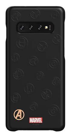 Чехол (клип-кейс) Samsung для Samsung Galaxy S10 Marvel Case AvLogo черный (GP-G973HIFGKWE) клип кейс samsung silicone для samsung galaxy s10 plus [ef pg975tbegru] черный