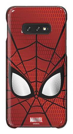 Чехол (клип-кейс) Samsung для Samsung Galaxy S10e Marvel Case Spiderman красный (GP-G970HIFGHWD) клип кейс uniq samsung galaxy s10e black