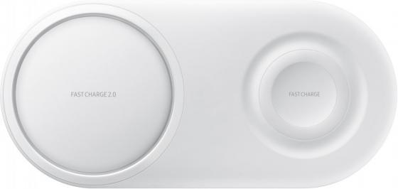 лучшая цена Беспроводное зарядное устройство Samsung EP-P5200 2.1A USB-C белый EP-P5200TWRGRU