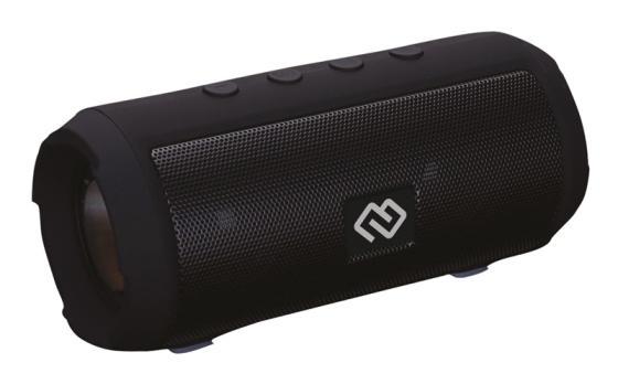 Колонка порт. Digma S-15 черный 12W 1.0 BT/USB цена и фото