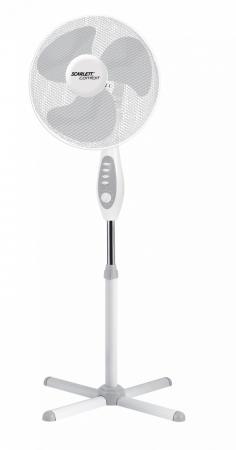 Вентилятор напольный Scarlett Comfort SC-SF111B18 45 Вт белый вентилятор scarlett sc 1371 белый