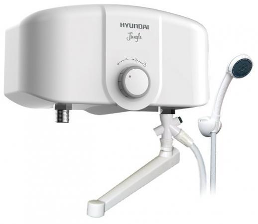 Водонагреватель Hyundai Jungle H-IWR2-5P-UI073/CS 3.5кВт электрический настенный/белый конвектор hyundai h hv12 15 ui704