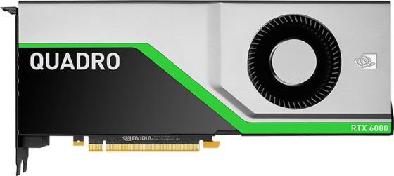Видеокарта DELL Quadro RTX 6000 490-BFCZ PCI-E GDDR6 384 Bit Retail 490-BFCZ видеокарта 8192mb dell firepro w7100 490 bcll