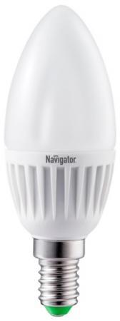Лампа светодиодная свеча Navigator NLL-C37-7-230-4K-E14-FR (94 492) E14 7W 4000K лампочка navigator nll c37 7 230 4k e14 cl 71 853