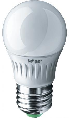Лампа светодиодная шар Navigator NLL-G45-7-230-4K-E27 ( 94 469) E27 7W 4000K NLL-G45-7-230-4K-E27  ( 94 469)