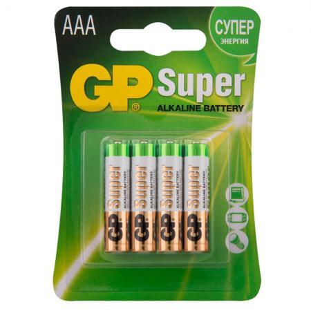 Батарейка GP GP 24A-2CR4 AAA 4 шт
