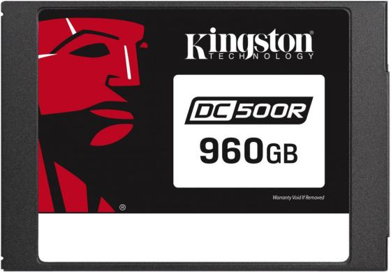 Kingston 960GB SSDNow DC500M (Mixed-Use) SATA 3 2.5 (7mm height) 3D TLC kingston ssdnow v300 480гб 2 5 mlc 3 5 адаптер