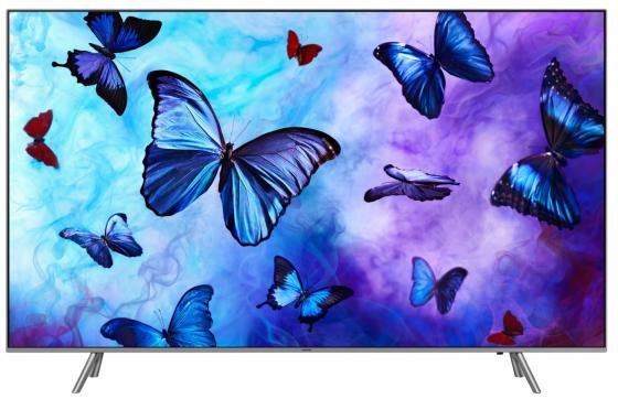 "лучшая цена Телевизор QLED Samsung 75"" QE75Q6FNAUXRU серебристый/Ultra HD/1400Hz/DVB-T2/DVB-C/DVB-S2/USB/WiFi/Smart TV (RUS)"
