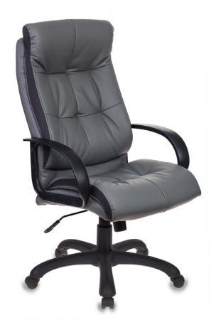 Кресло руководителя Бюрократ CH-824B/LGREY серый кресло руководителя бюрократ ch 868axsn white белый